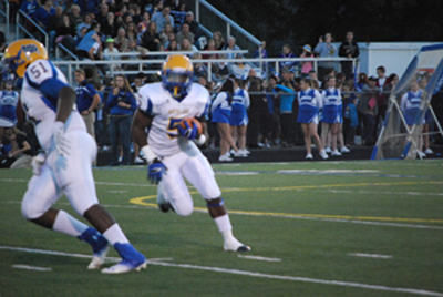 Football team starts off strong, loses lead